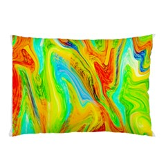 Happy Multicolor Painting Pillow Case by designworld65