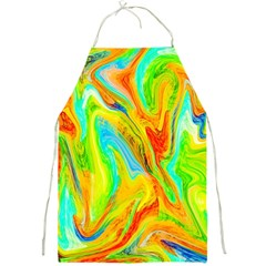 Happy Multicolor Painting Full Print Aprons by designworld65