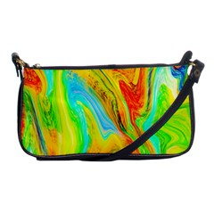 Happy Multicolor Painting Shoulder Clutch Bags by designworld65