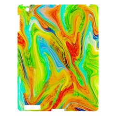 Happy Multicolor Painting Apple Ipad 3/4 Hardshell Case by designworld65