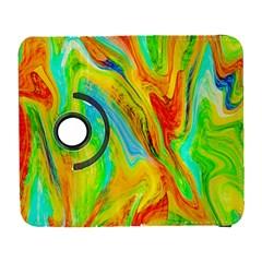 Happy Multicolor Painting Samsung Galaxy S  Iii Flip 360 Case by designworld65