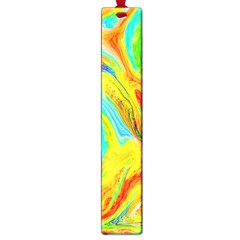 Happy Multicolor Painting Large Book Marks by designworld65