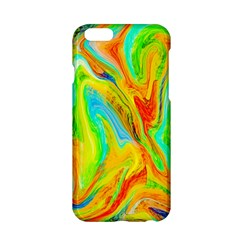 Happy Multicolor Painting Apple Iphone 6/6s Hardshell Case by designworld65