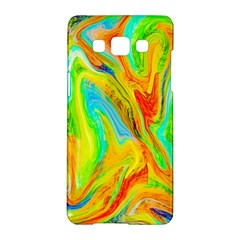 Happy Multicolor Painting Samsung Galaxy A5 Hardshell Case  by designworld65