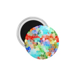 Colorful Mosaic  1 75  Magnets by designworld65