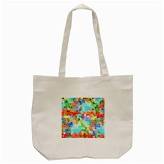 Colorful Mosaic  Tote Bag (cream) by designworld65