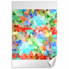 Colorful Mosaic  Canvas 24  X 36  by designworld65