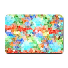 Colorful Mosaic  Small Doormat  by designworld65