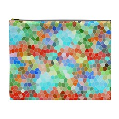 Colorful Mosaic  Cosmetic Bag (xl) by designworld65