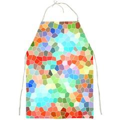 Colorful Mosaic  Full Print Aprons by designworld65