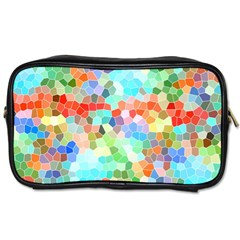 Colorful Mosaic  Toiletries Bags by designworld65