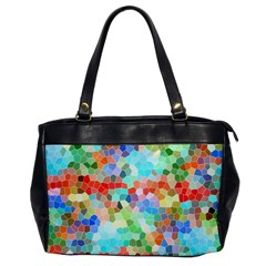 Colorful Mosaic  Office Handbags by designworld65