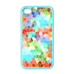 Colorful Mosaic  Apple Iphone 4 Case (color) by designworld65