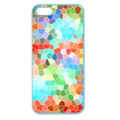 Colorful Mosaic  Apple Seamless Iphone 5 Case (color) by designworld65