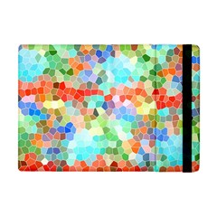Colorful Mosaic  Apple Ipad Mini Flip Case by designworld65