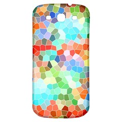 Colorful Mosaic  Samsung Galaxy S3 S Iii Classic Hardshell Back Case by designworld65