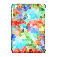 Colorful Mosaic  Apple Ipad Mini Hardshell Case (compatible With Smart Cover) by designworld65