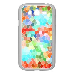 Colorful Mosaic  Samsung Galaxy Grand Duos I9082 Case (white) by designworld65