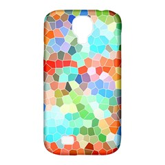Colorful Mosaic  Samsung Galaxy S4 Classic Hardshell Case (pc+silicone) by designworld65