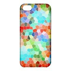 Colorful Mosaic  Apple Iphone 5c Hardshell Case by designworld65