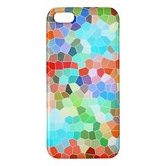 Colorful Mosaic  Iphone 5s/ Se Premium Hardshell Case by designworld65