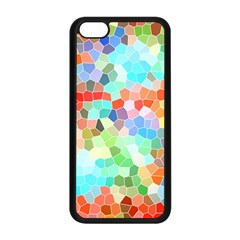 Colorful Mosaic  Apple Iphone 5c Seamless Case (black) by designworld65