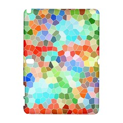 Colorful Mosaic  Samsung Galaxy Note 10 1 (p600) Hardshell Case by designworld65