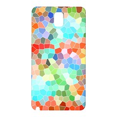 Colorful Mosaic  Samsung Galaxy Note 3 N9005 Hardshell Back Case by designworld65