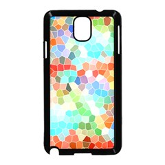 Colorful Mosaic  Samsung Galaxy Note 3 Neo Hardshell Case (black) by designworld65