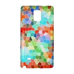 Colorful Mosaic  Samsung Galaxy Note 4 Hardshell Case by designworld65