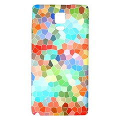 Colorful Mosaic  Galaxy Note 4 Back Case by designworld65