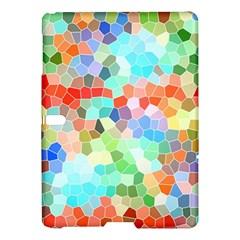 Colorful Mosaic  Samsung Galaxy Tab S (10 5 ) Hardshell Case  by designworld65