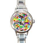 Irritation Colorful Dream Round Italian Charm Watch