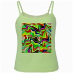 Irritation Colorful Dream Green Spaghetti Tank