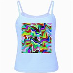 Irritation Colorful Dream Baby Blue Spaghetti Tank