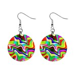 Irritation Colorful Dream Mini Button Earrings
