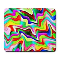 Irritation Colorful Dream Large Mousepads by designworld65