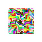 Irritation Colorful Dream Square Magnet