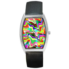 Irritation Colorful Dream Barrel Style Metal Watch by designworld65