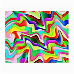 Irritation Colorful Dream Small Glasses Cloth by designworld65