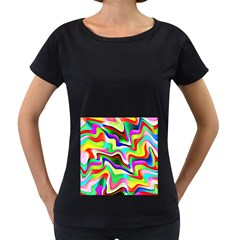 Irritation Colorful Dream Women s Loose Fit T Shirt (black) by designworld65