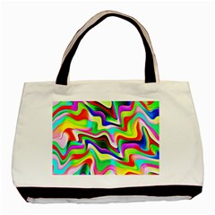 Irritation Colorful Dream Basic Tote Bag by designworld65