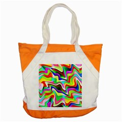 Irritation Colorful Dream Accent Tote Bag by designworld65