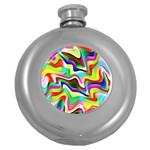 Irritation Colorful Dream Round Hip Flask (5 oz)