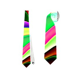 Irritation Colorful Dream Neckties (one Side)  by designworld65