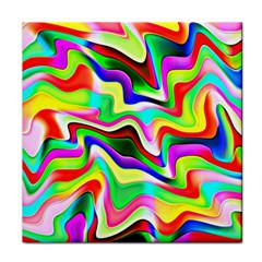 Irritation Colorful Dream Face Towel by designworld65