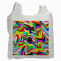 Irritation Colorful Dream Recycle Bag (one Side) by designworld65
