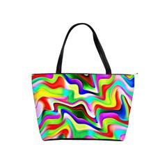 Irritation Colorful Dream Shoulder Handbags by designworld65