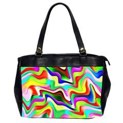 Irritation Colorful Dream Office Handbags (2 Sides)  by designworld65