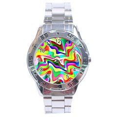 Irritation Colorful Dream Stainless Steel Analogue Watch by designworld65
